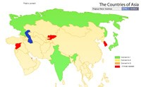 Οι χώρες της Ασίας