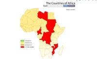 Οι χώρες της Αφρικής