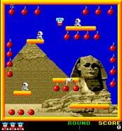 Bomb Jack - Κλασικό Παιχνιδι