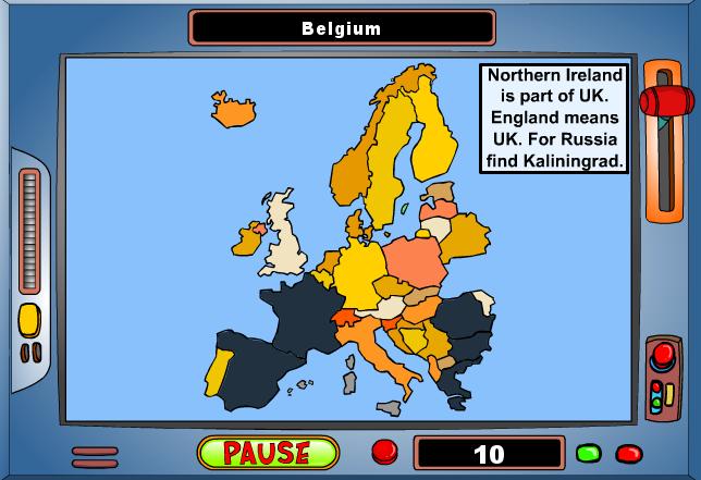 Παιχνίδι Γεωγραφίας